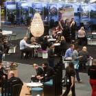 Delegates gather at the Trenz conference  at the Rotorua Energy Events Centre. Photo: NZME