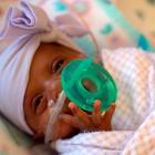 Baby Saybie is seen in this March photo provided by Sharp HealthCare in San Diego. Photo: AP
