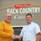 Marking the sale of Back Country Foods to Invercargill family business George Wilson Group are...