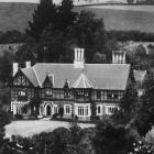 Bishopsgrove, Woodhaugh, the residence of the Primate, Bishop Nevill. - Otago Witness, 28.5.1919