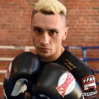 Dunedin boxer Chase Haley prepares for his bout against Andrei Mikhailovich at New Zealand Fight...