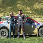 Timaru's Samantha Gray and Hayden Paddon are teaming up for this week's Whangarei rally. Photo:...