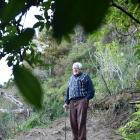 Daily Frasers Gully walking track user John Burton says it is ridiculous the track has been...