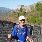 Kerry Dunlop is walking the Great Wall of China for charity. Photo: Supplied