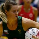 Lenize Potgieter of South Africa (SPAR Proteas) During Netball Quad Series Vitality Netball International match between England and South Africa. Photo: Getty Images