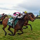 Lil Miss Swiss and Tanya Jonker cause a major upset in winning the Riverton Cup on Saturday....