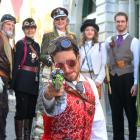 Steampunkers at Oamaru's annual festival will not be allowed to carry props that look like modern...