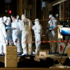 French police were hunting a suspected suitcase bomber on Friday after an explosion in the...