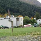 Site preparation is under way for demolition of the former Wakatipu High School buildings in...