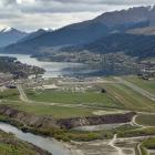 Queenstown Airport has announced a fall in its half-year profit. PHOTO: STEPHEN JAQUIERY ...