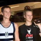 Ben Mason and Eva Hofmans were all smiles earlier this week as they discussed their selection in...