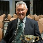 Kaitangata dairy farmer Stephen Korteweg was presented with Federated Farmers Otago's Robbie...