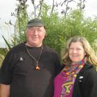 Southland Ballance Farm Environment Awards winners Travis Leslie and Catriona Cunningham, who...