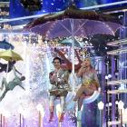 """Brendon Urie, left, and Taylor Swift perform """"Me!"""" at the Billboard Music Awards on Wednesday,..."""