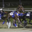 Oamaru trotter Ultimate Stride and driver Nathan Williamson beat Midnight Dash and Ricky May to...