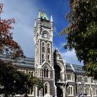 University of Otago's clocktower. Photo: Gregor Richardson.