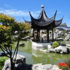 The Dunedin Chinese Garden.