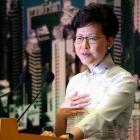 Hong Kong chief executive Carrie Lam. Photo: Reuters