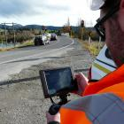 NZTA coastal Otago maintenance contract manager Nick Rodger uses a new drone-mounted zoom camera...