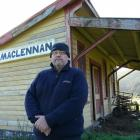 Maclennan Railway Station owner Albert Jenks wants Heritage NZ listing for the 98-year-old former...