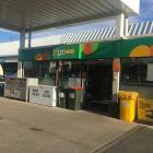 The Mornington BP, where the glass in the sliding door was smashed in a smash and grab this...