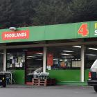 The Kaikorai Valley Four Square supermarket which was the site of an attempted burglary on...