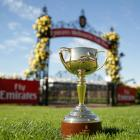 The best known trophy in Australasian horse racing is coming to town. Photo: Getty Images