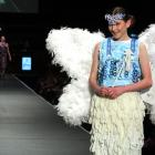Joanna Neylon wears The Tooth Fairy created by Caitlin Whitaker, Neve Waddel, Kayla McQuoid and...