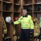 Thornbury chief fire officer Andrew Hall shows the new station. PHOTO: LUISA GIRAO