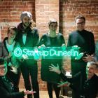 2019 Startup Dunedin Challenger Series winners . . .  (Back row from left) Aaron Furrer, of Next...