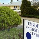Lumsden Maternity Centre. Photo: ODT files