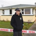 In mourning outside the Mosgiel home where his grandfather died on Sunday in circumstances which...