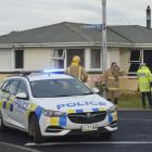 Police say a fatal house fire in Mosgiel in which a man was found unconscious by firefighters...