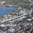 Oamaru and the Oamaru Harbour. Photo: ODT