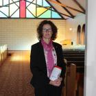 "Whitestone Funerals manager Janeen Paull holds ""forgotten Mary'', who will be laid to rest next..."