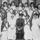 The staff of the orthopaedic department at Dunedin Hospital where many returned soldiers are...
