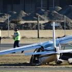 The crashed Cessna 177. PHOTO: GUY WILLIAMS/FILE PHOTO