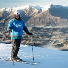 Brendan Lindsay, of Christchurch, pictured at Coronet Peak on Wednesday. Photo: Coronet Peak