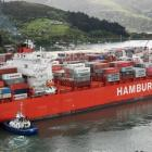 Rio de Janiero was the first Rio-class container ship to visit Port Chalmers in October last year...
