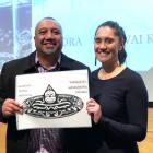 Former navy diver Rob Hewitt and University of Otago researcher Dr Chanel Phillips collaborate on...