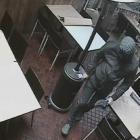 The 'intruder' that was caught on CCTV is believed to actually have been Angelo Ziotas. Image:...