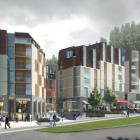An artist's impression of the new hotel complex in Queenstown. Photo: Supplied