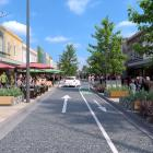 The Dunedin City Council's preliminary concept design for a one-way southbound George St aims to...