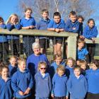 Millers Flat School teacher Lorna Skevington (pictured with her class) retires at the end of this...