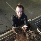 Otago Polytechnic student and project co-ordinator Finn Boyle is excited by plans for a new...