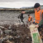 Aucklander John Duder travelled to the West Coast to volunteer cleaning up on the Fox River after...