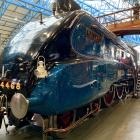 The Mallard, the fastest of all steam trains, is free to touch, gape at and peer inside at York's...