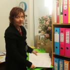 Grey Power Southland secretary Stephnie de Ruyter with a petition asking for recently cut in-home...