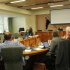 The Invercargill City Council and Mayor Tim Shadbolt hear submitters on the first day of a...