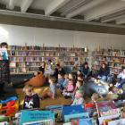After power was cut to most of the city centre, staff at the Invercargill City Library had to...